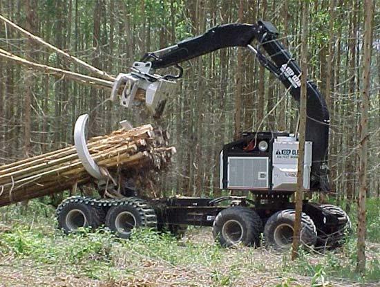 Техника для перемещения леса