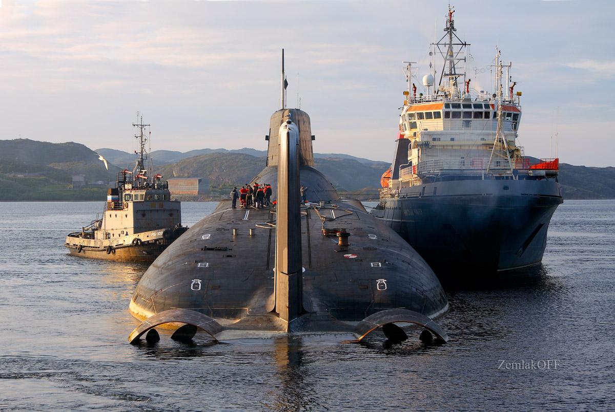 крупнейшие аварии подводных лодок