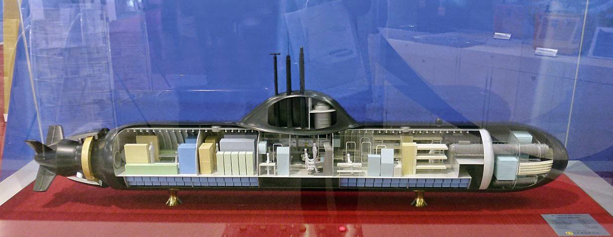 современные аккумуляторы подводных лодок
