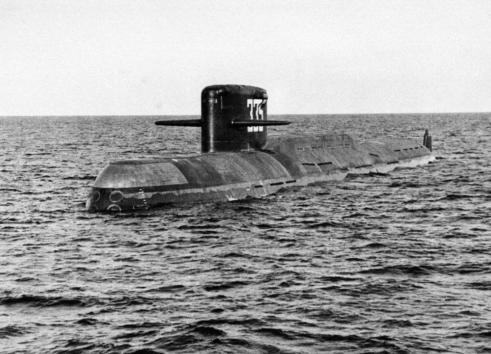 "Completa 50 anos submarino nuclear К-137 ""Leninets"" – 667А"