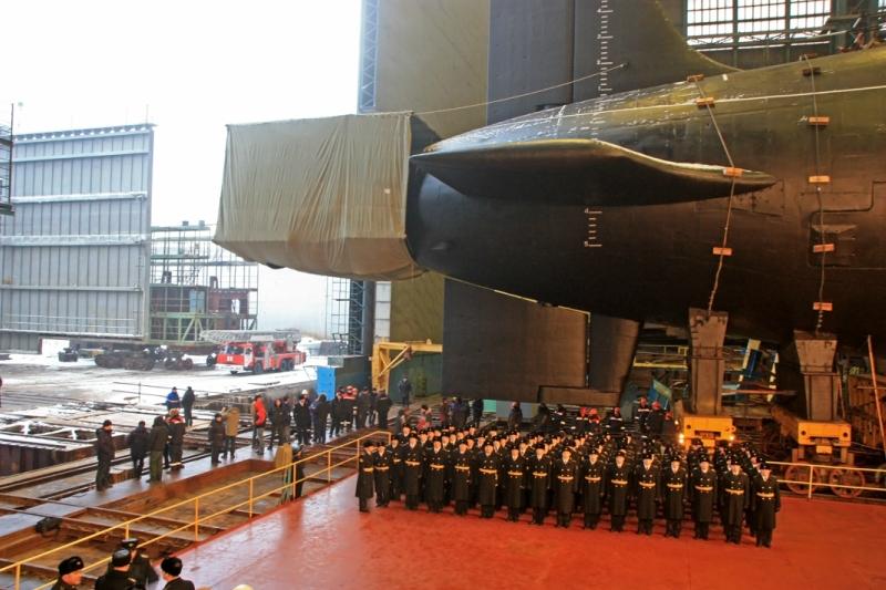 подводная лодка борей фото внутри